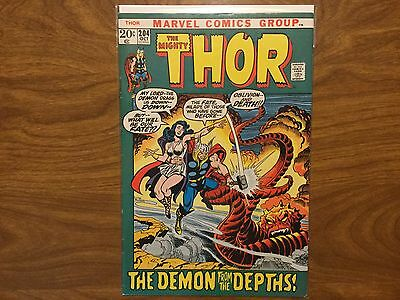 The Mighty Thor 204 Thor Exiled on Midgard Mephisto App. 1972