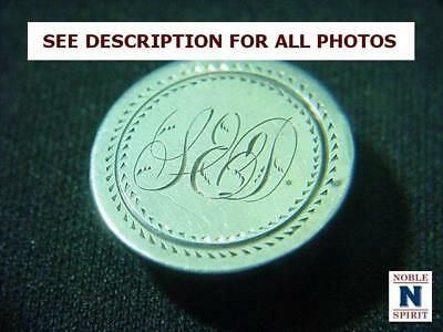 NobleSpirit NO RESERVE {CT1} Exciting Seated Dime 1857 High Grade Love Token