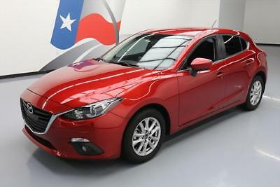 2015 Mazda Mazda3 I Touring Hatchback 4-Door 2015 MAZDA MAZDA3 I TOURING HATCHBACK NAV REAR CAM 8K #140111 Texas Direct Auto