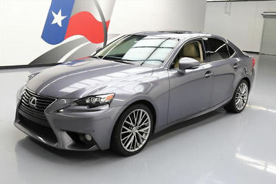 2014 Lexus IS  2014 LEXUS IS250 PREMIUM CLIMATE SEATS SUNROOF NAV 41K #039143 Texas Direct Auto