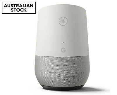 Google Home Smart Speaker - Australian version, White/Slate
