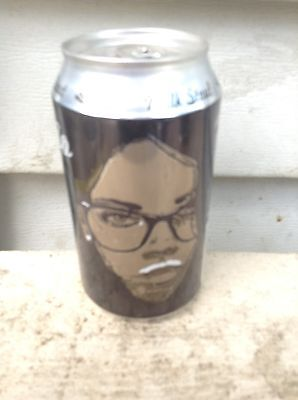 Mustachie Stout Aluminum Beer Can Cans