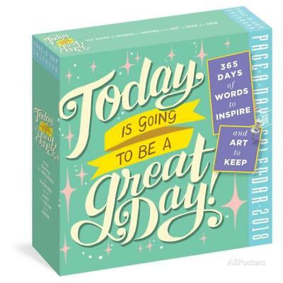 Today Is Going To Be A Great Day! Color Page-A-Day - 2018 Boxed Ca... Calendars
