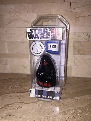 Star Wars Toys R Us Exclusive 2 Gb Usb Darth Maul Drive