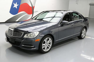 2014 Mercedes-Benz C-Class  2014 MERCEDES-BENZ C250 LUXURY PANO ROOF HTD SEATS 46K #919083 Texas Direct Auto