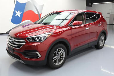 2017 Hyundai Santa Fe  2017 HYUNDAI SANTA FE REARCAM POWER LIFTGATE ALLOYS 27K #408520 Texas Direct