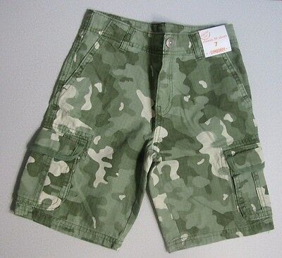 NWT Gymboree DESERT DAY CAMP 7 Camouflage Green Shorts 7 Classic Fit Shorts