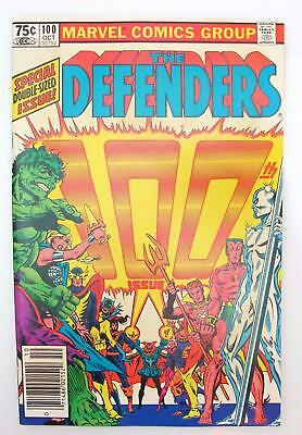 Defenders #100 (NM-) 9.2 Marvel Comics, Hellcat, 52 page issue