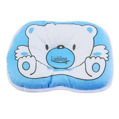 Newborn Infant Baby Bear Pattern Pillow Support Cushion Pad Prevent Flat LEBB