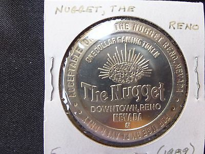 The Nugget Reno Nevada $1 Gaming Token