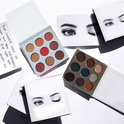 9 Colors Women Shimmer Matte Eyeshadow Palette Set Eye Shadow Makeup Cosmetic