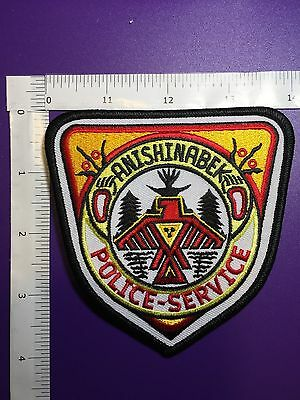Anishinabek  Canada  Police Service  Shoulder Patch