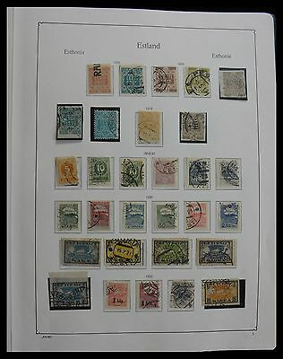 Lot 27664 Collection stamps of Estonia 1918-2010.