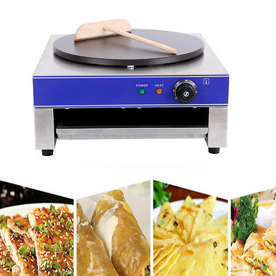 3000W Crepe Maker Pancake Machine Commercial  40 Cm Diameter Crepes Restaurant