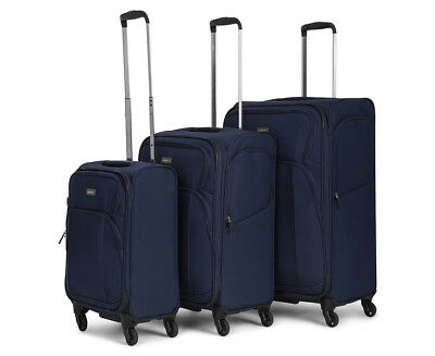 Antler Airstream 2 4W Rollercase 3-Piece Set - Navy