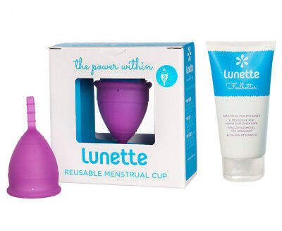 Lunette Cynthia Model 2 Menstrual Cup & Cleanser Pack