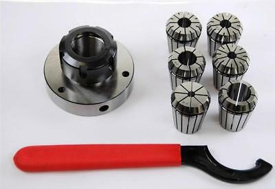 ER32 Collet Set with 80 MM Diameter Chuck For Lathe  From Chronos