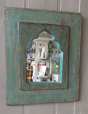 Reclaimed Wood Indian Mirror