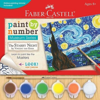 Paint By Number:The Starry Night