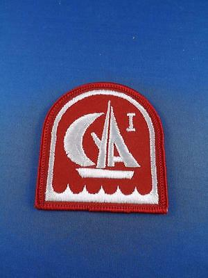 Canadian Yachting Association Patch Badge Vintage Collector Boat Sailing
