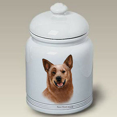 Ceramic Treat Cookie Jar - Australian Cattle Dog (TB) 34301