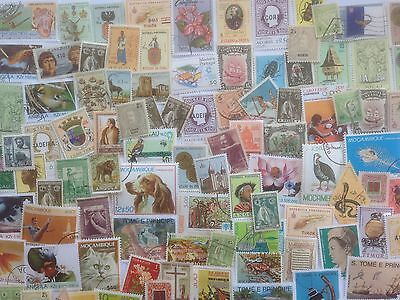 1000 Different Portuguese Colonies Stamp Collection