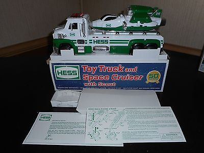2014 Hess Toy Truck And Space Cruiser W/scout Nib W/box Issue