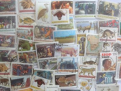 200 Different South Africa Stamp Collection - Bophuthatswana