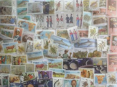 200 Different South Africa Stamp Collection - Ciskei