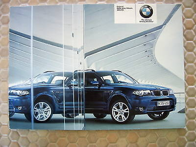 Bmw Official Alloy Wheels Sales Brochure 2004-2005 Usa Edition