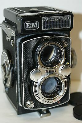 Yashica - Mat EM with 80mm lens and Copal shutter