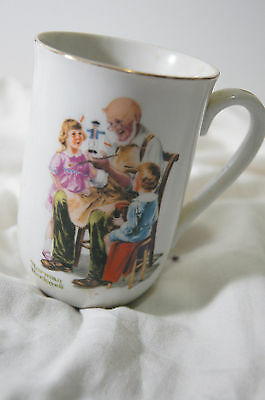 Norman Rockwell Musem Collectible Mug - The Toymaker