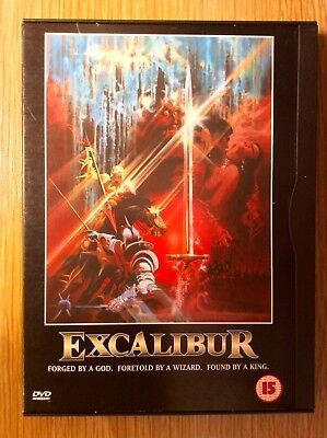 Excalibur  -  Classic Sword & Sorcery Action Movie  -  Brand New DVD