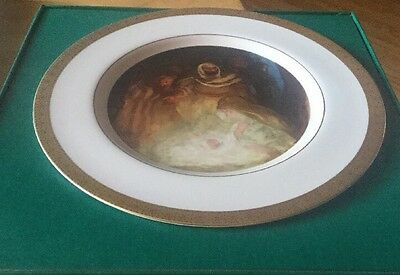 the danbury mint collectibles, 1977 Christmas Plate