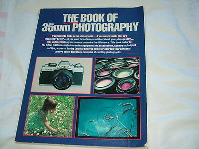 The Book of 35mm Photography Van Nostrand Reinhold paperback good cont