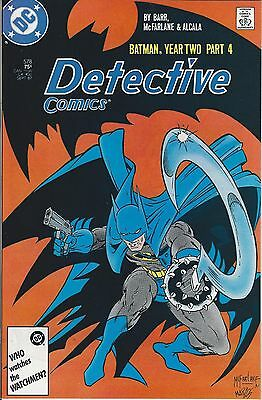 DC's DETECTIVE COMICS(9/87)Issue #578~Part 4 of the 4-part YEAR TWO Storyline
