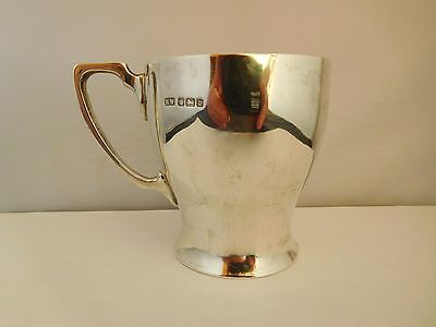 Good Quality Antique English Sterling Silver Cup - Sheffield 1913
