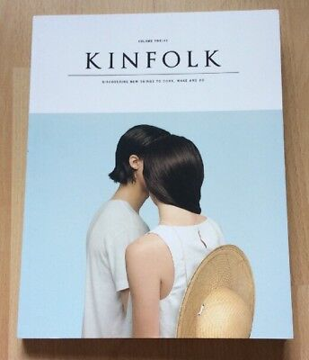 Kinfolk Magazine Vol 12 Discovering New Things To Cook Make & Do  Uk Freepost