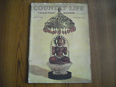 COUNTRY LIFE MAGAZINE - JUNE 13th 1952