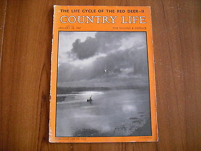 COUNTRY LIFE MAGAZINE - JANUARY 24th 1947