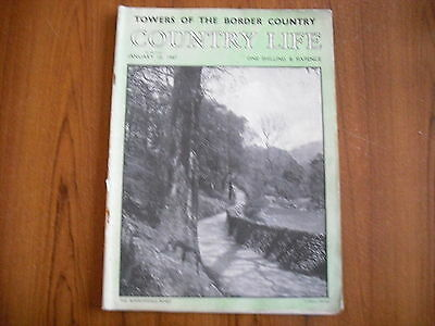COUNTRY LIFE MAGAZINE - JANUARY 10th 1947