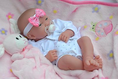 PJs BERENGUER LA NEWBORN FIRST SMILE BABY GIRL DOLL FOR REBORN / PLAY + EXTRAS