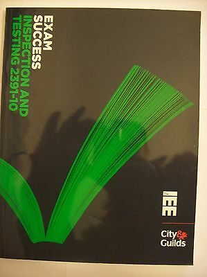 C&G Exam Success Inspection and Testing 2391 CITY & GUILDS EXAM RARE BOOK TODAY