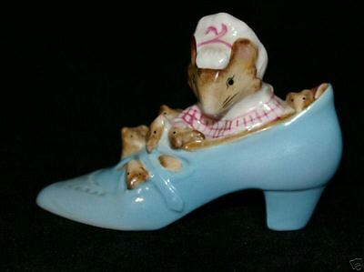 Beswick Beatrix Potter Old Woman Who Lived In Shoe Bp2