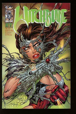 WITCHBLADE #2 NEAR MINT 1995 MICHAEL TURNER bin-2017-0517