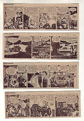 Steve Canyon by Milton Caniff - 26 daily comic strips - Complete November 1972