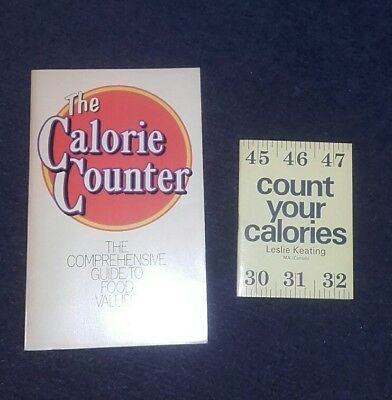 Calorie Counter Vintage Books how to control diet 1970s Paperback & Pocket books