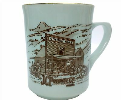 JC Penney Co THE MOTHER STORE Kemmerer, Wyoming Store #1 Porcelain Coffee Mug
