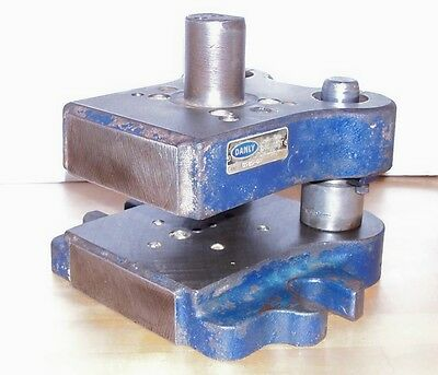Danly  2 Post Die Set  0505 D-2  Punch Press Blank Tooling