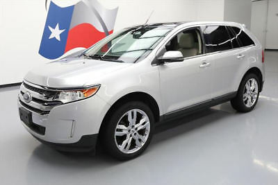 2013 Ford Edge Limited Sport Utility 4-Door 2013 FORD EDGE LTD PANO ROOF NAV REAR CAM LEATHER 27K #A35334 Texas Direct Auto